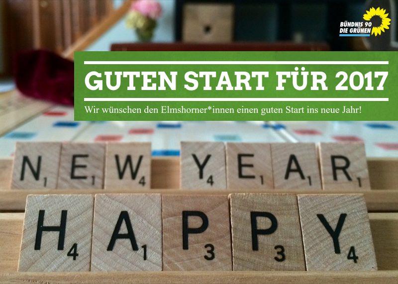 Guten Start für 2017 - Bündnis 90 / Die Grünen - ElmshornBündnis 90 ...