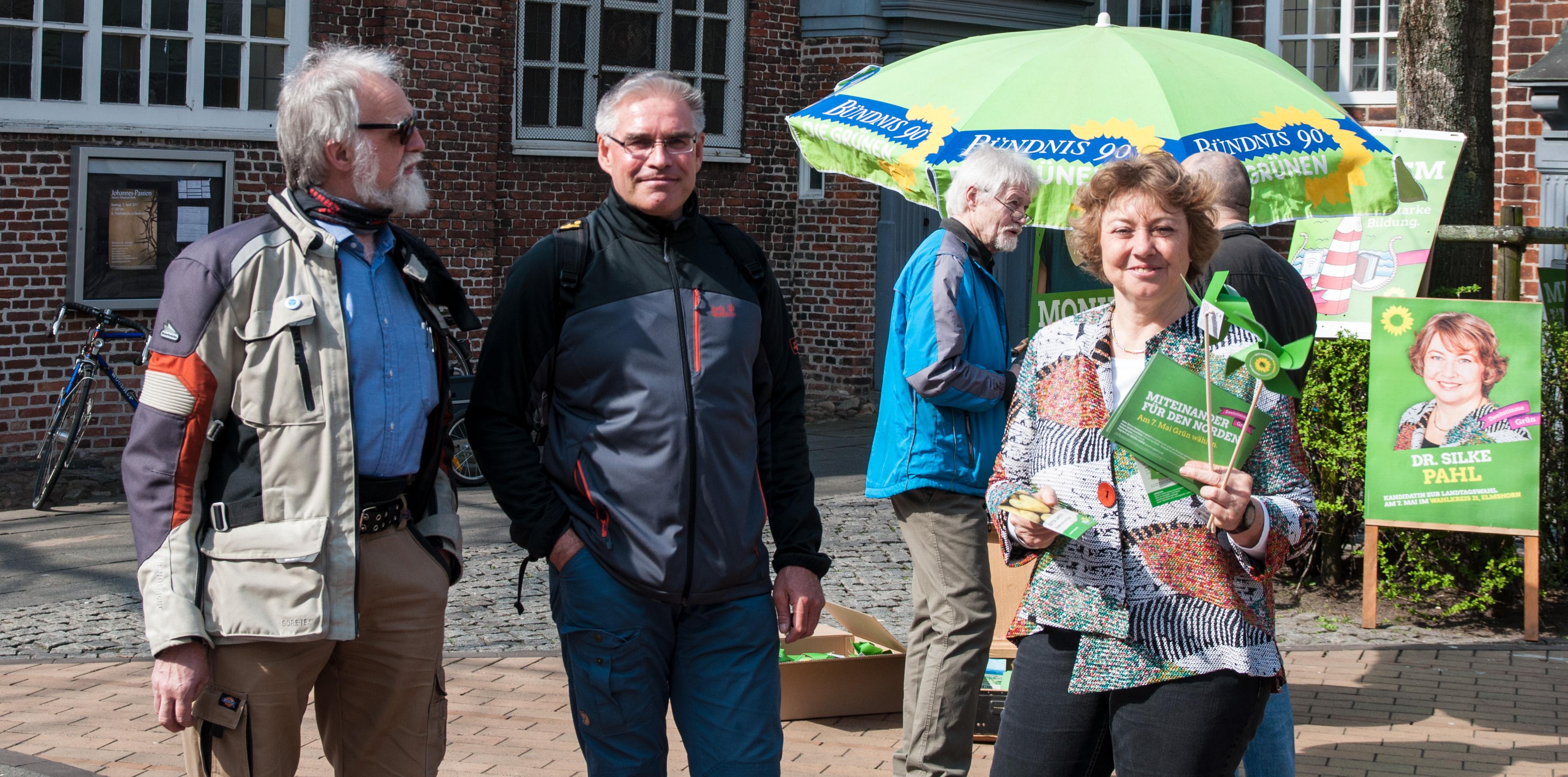 Le Grüner Schirm wahlkfauftakt unterm schirm bündnis 90 die grünen