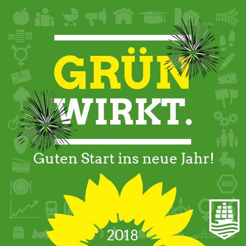 Wir wünschen einen Guten Start ins neue Jahr! - Bündnis 90 / Die ...