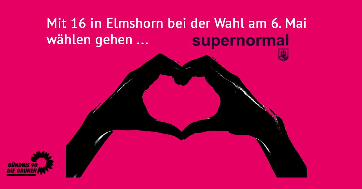 Mit 16 wählen – in Elmshorn supernormal!