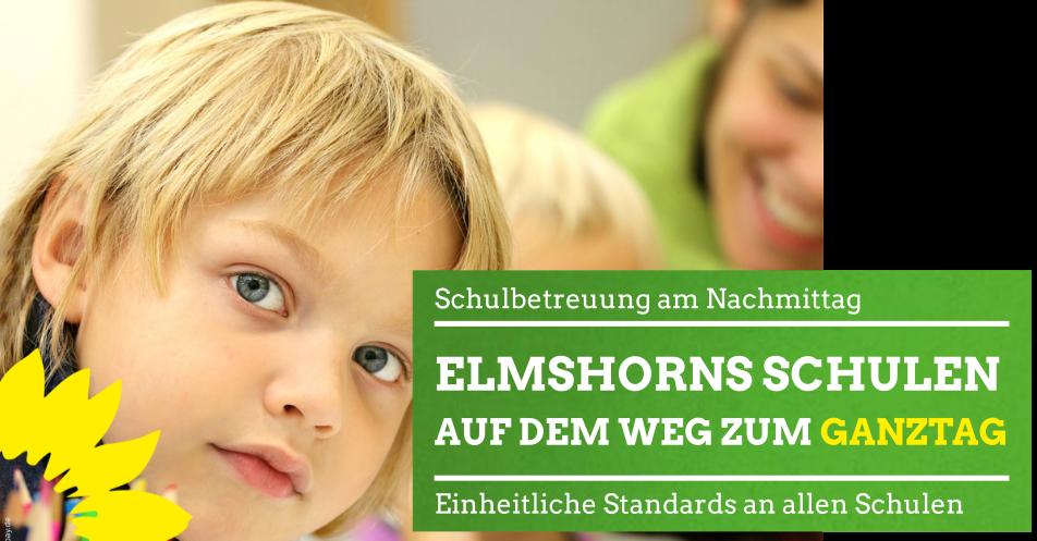 Elmshorns Schulen auf dem Weg zur offenen Ganztagsschule