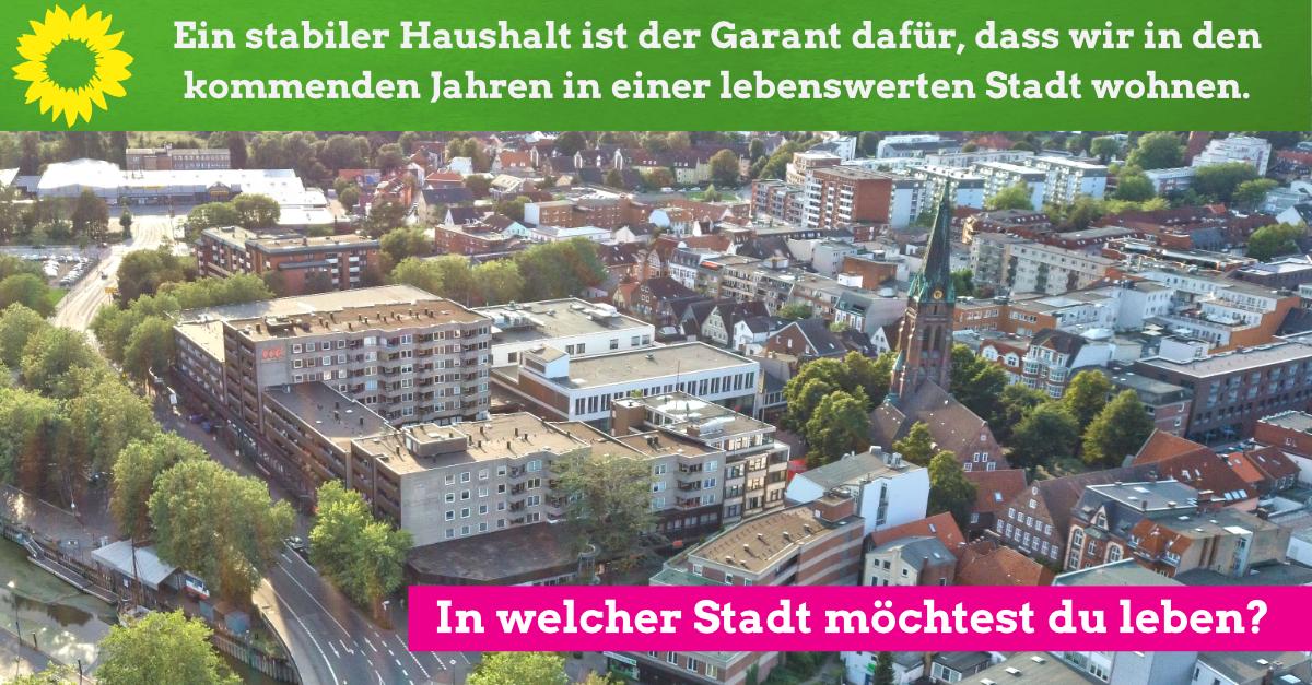 Haushalt 2020 – Stabilität für eine Stadt in der wir leben möchten.