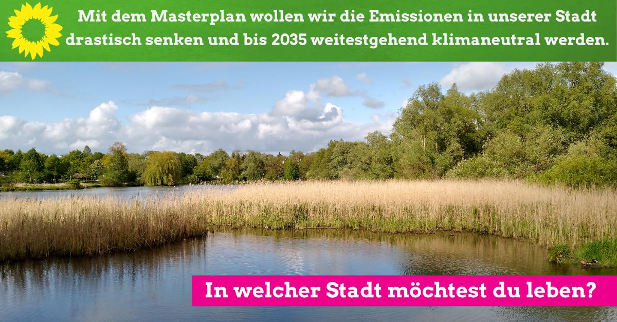 Mit dem Masterplan wollen wir Emissionen in unserer Stadt drastisch senken