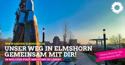 Unsere Ziele für das erste Quartal 2021 - Bild vom Dalben und der Käpt'n Jürrs Brücke in Elmshorn
