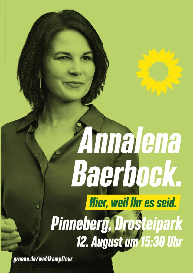 Annalena Baerbock kommt nach Pinneberg!